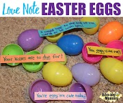 Love Note Easter Eggs & Baby Feet Bunny Painting