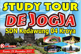 Desain Banner Study Tour cdr