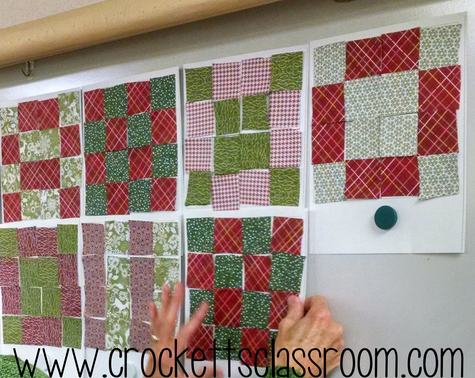 Cozy Geometry Quilts Crocketts Classroom Forever In Third Grade