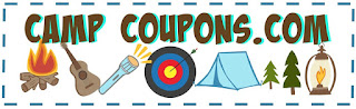 Picture of a big summer camp coupon on the About Us page of the CampCoupons.com website