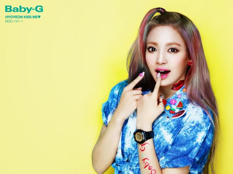a6be9615e8 Careentan.com: Girls' Generation for Baby-G!