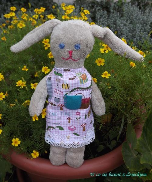 przytulanka-królik, konkurs