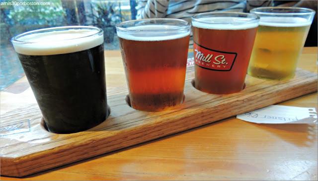 Mill St. Brewery: Degustación de Cervezas
