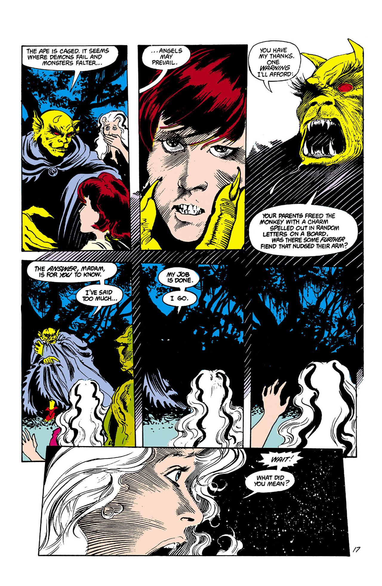Swamp Thing (1982) Issue #27 #35 - English 17