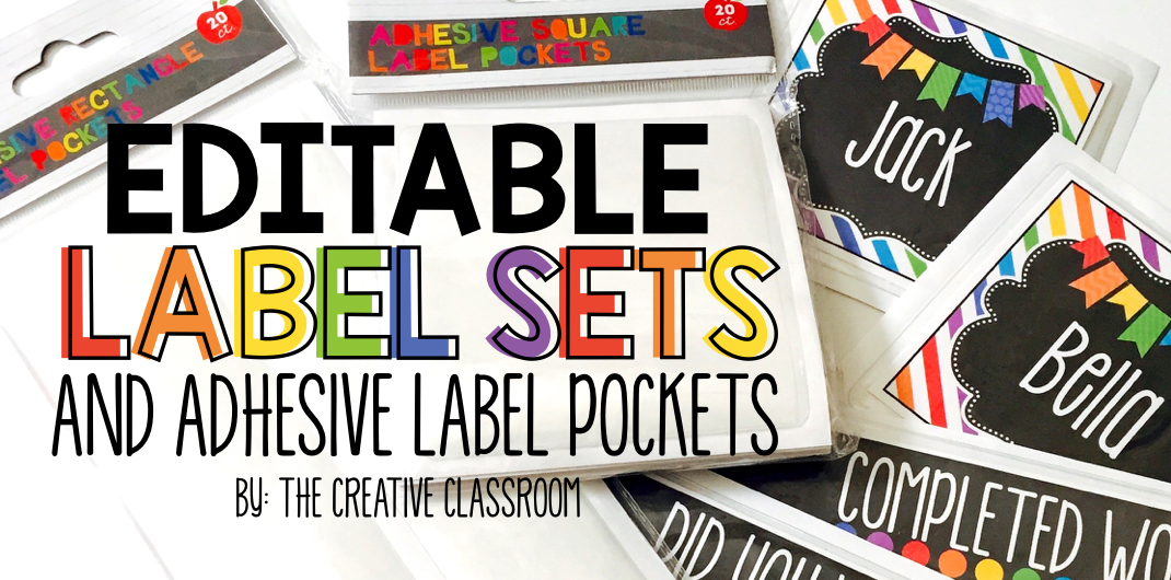 Editable Classroom Labels The Creative Classroom - Mailbox label template