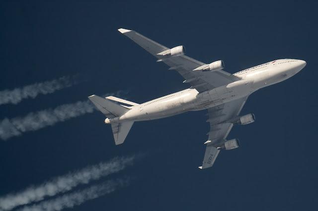 Flight Print of Air France Boeing 747-400