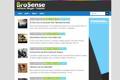 Template Brosense v2 High CTR Responsive karya Mas Sugeng