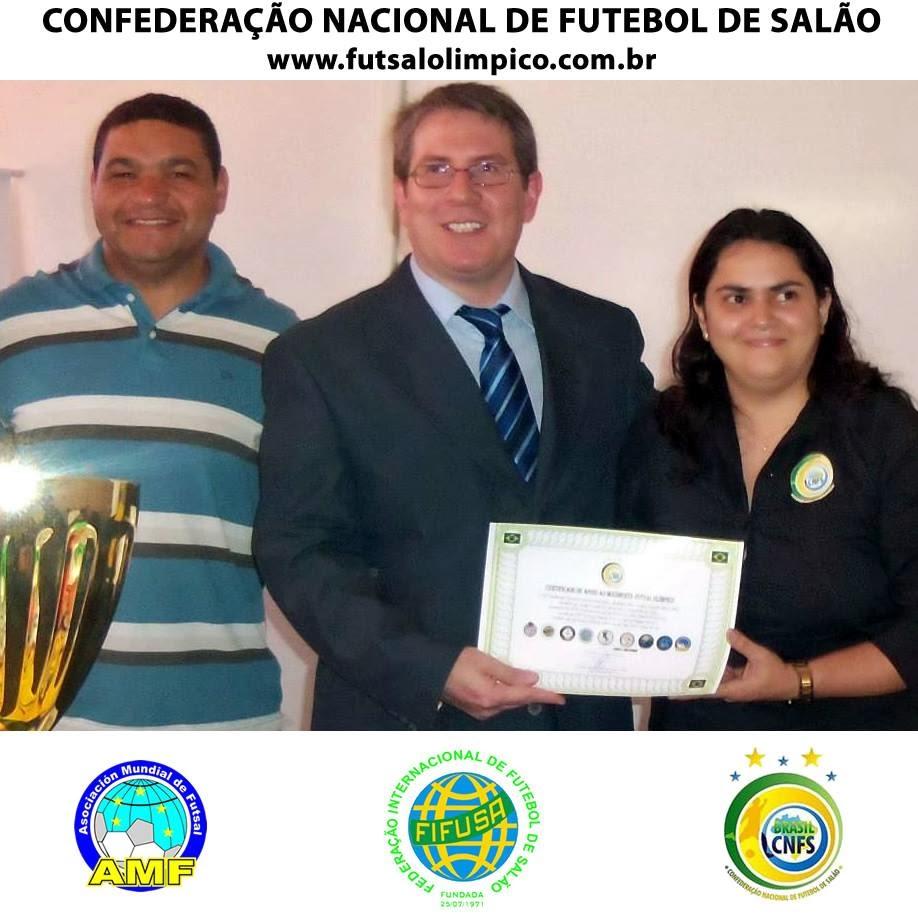 ... Confederação Nacional de Futebol de Salão. Uma das principais funções  que exercerei será o resgate do Futebol de Salão em todo o território  brasileiro. dd3cfc64e995b