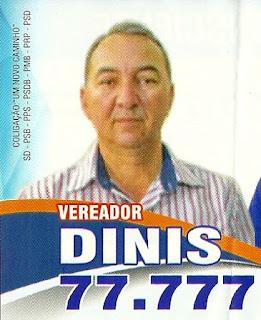Eleições 2016 - Dinis