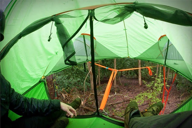 for more visit & HAVE A NICE DAY: Tensile Connect Tree Tent