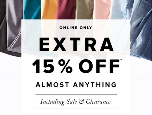 Hudson's Bay Flash Sale Extra 15% Off Promo Code