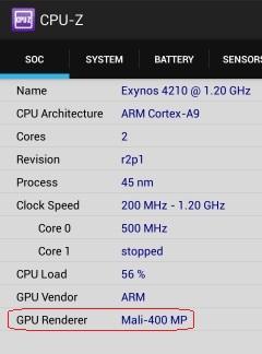 GPU di Android
