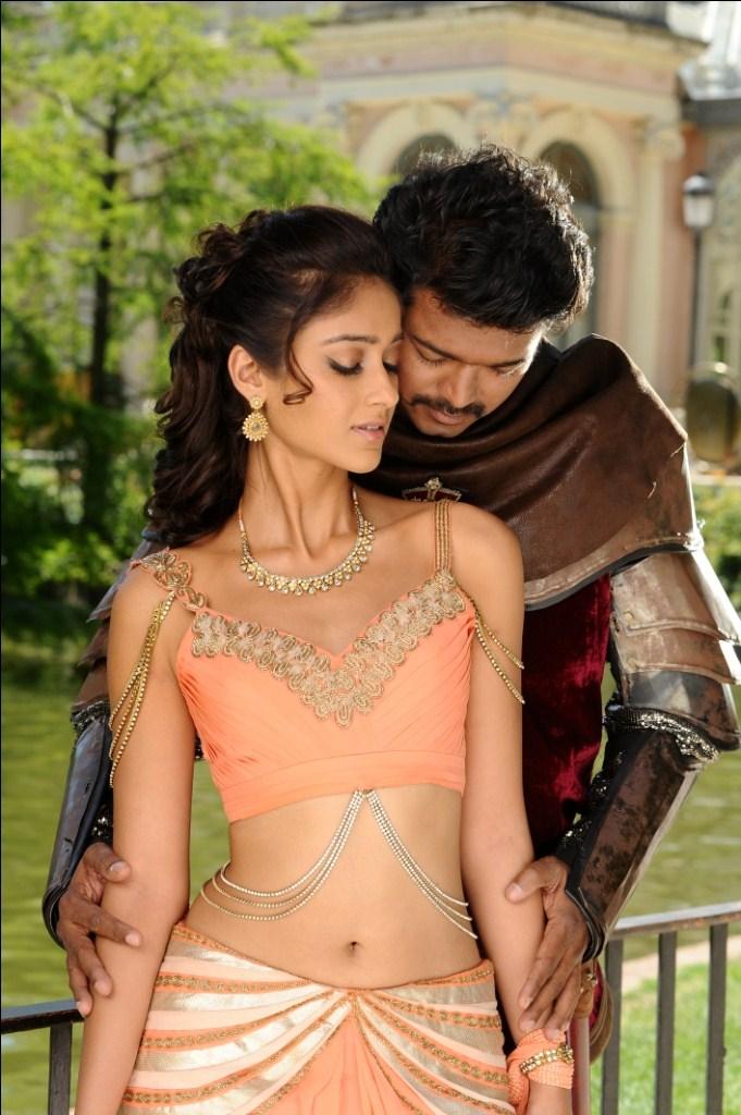 Vijay And Ileana In Snehithudu Movie Images