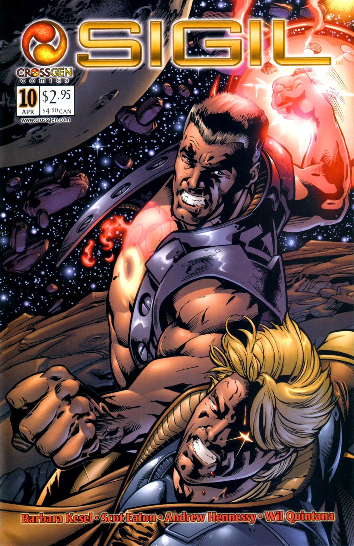Read online Sigil (2000) comic -  Issue #10 - 1