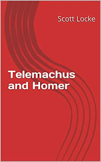 Telemachus and Homer - a young adult mythology masterpiece by Scott Locke