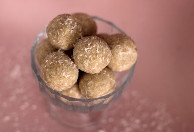 Healthy Coconut Shortbread Truffles - Desserts with Benefits