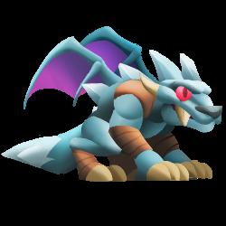 Dragon Givreloup apparence jeune