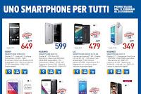 """Euronics propone """"Uno smartphone per tutti"""": volantino valido dall'11 al 24 febbraio 2016"""