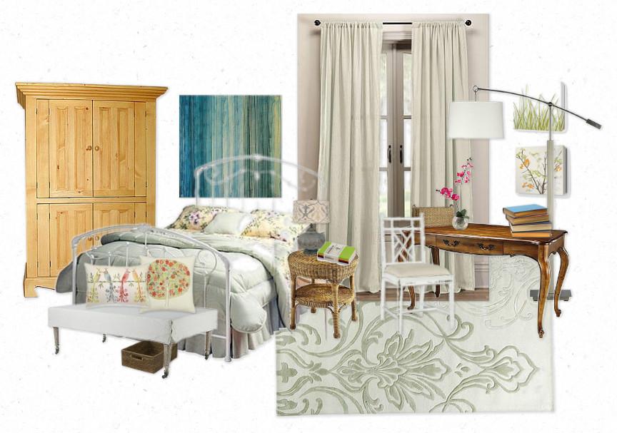 Emily Fields Bedroom Design