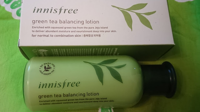 INNISFREE Green Tea Seed Serum i Balancing Lotion - recenzja