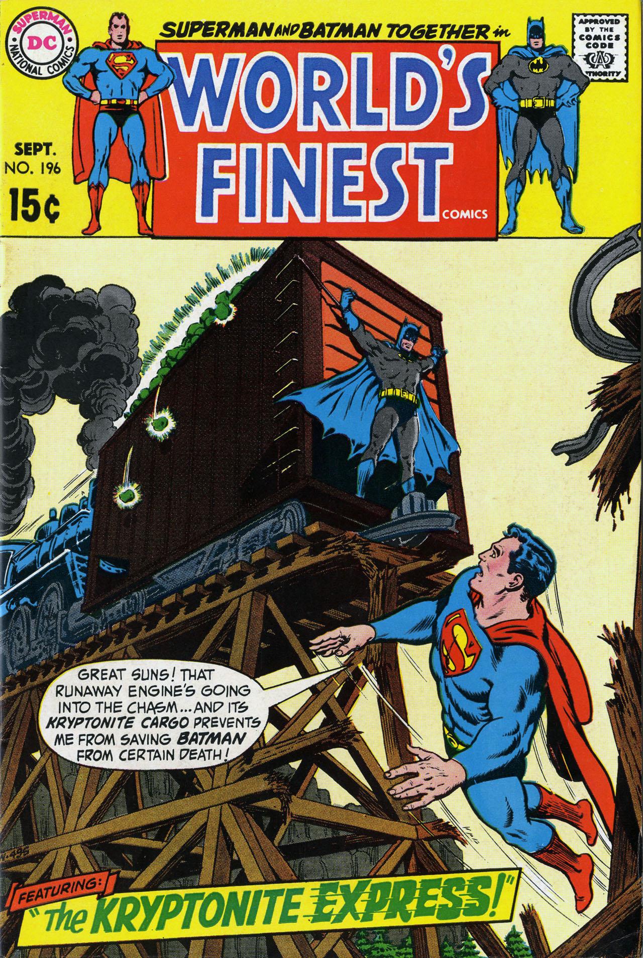 Read online World's Finest Comics comic -  Issue #196 - 1