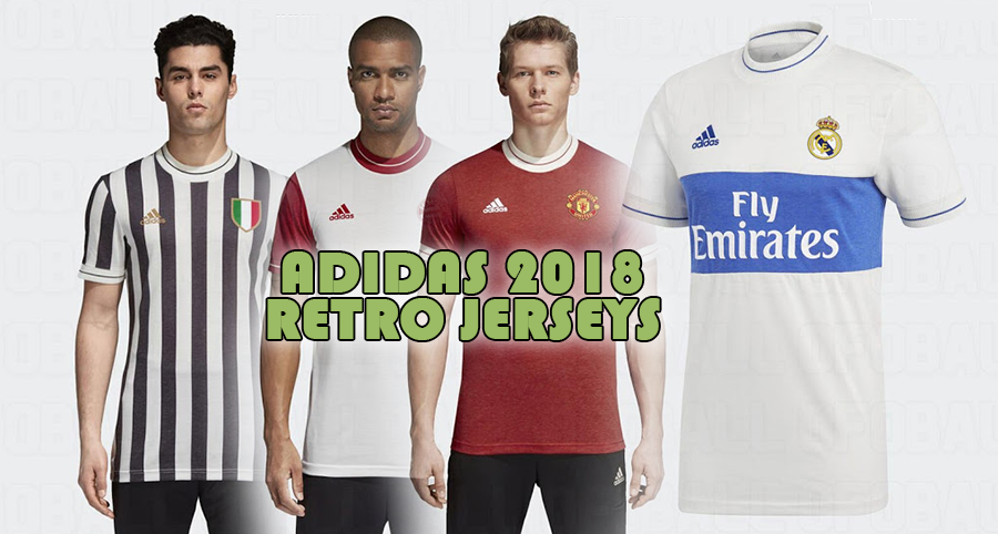 Adidas 2018 Retro Kits -  Dream League Soccer Kits
