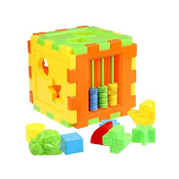 Kid Educational Animal Shape Alphabet Block Cube Wooden Balance Toy