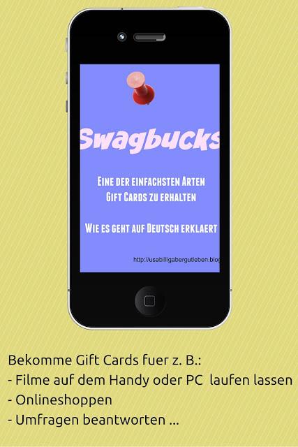 Cash Back oder Gift Cards für Videos schauen Umfragen und mehr