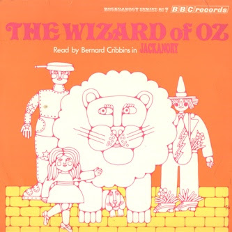RBT 7 Wizard of oz Bernard Cribbins from the BBC albums - Records and Tapes library