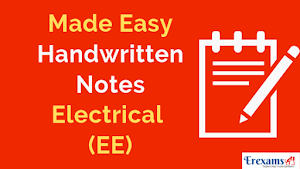 Made Easy Handwritten Notes for Electrical (EE) Branch