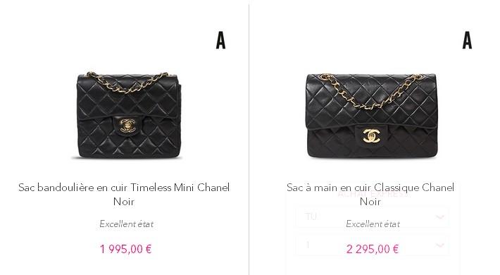 ef2b6af2086f ... Prada, Fendi, Ralph Lauren, Yves Saint Laurent, Miu Miu...Les prix sont  abordables dans la plupart des rubriques exception faite de Chanel et  Hermes.