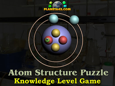 Online Atom Structure Puzzle