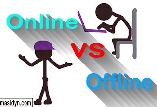 Tidak Ada Yang instan kerja Online dan Offline