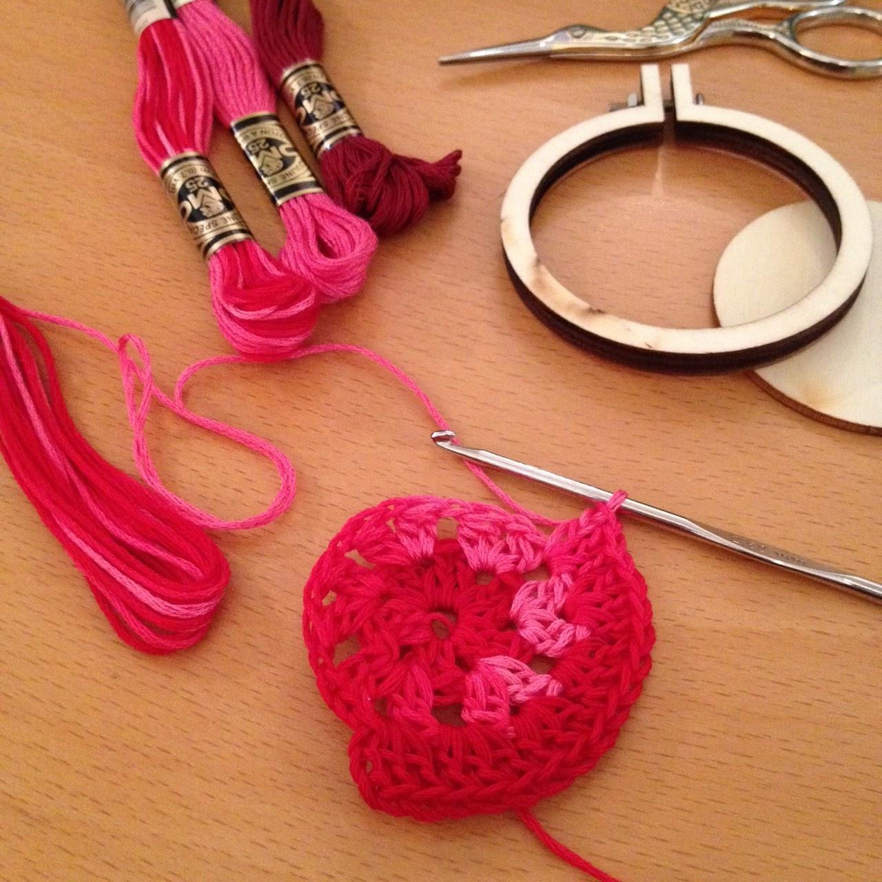 el resultado nos ha encantado y nos ha demostrado que el hilo moulin es genial tambin para hacer detalles de ganchillo