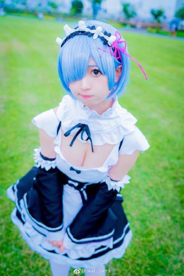 cute cosplay rem