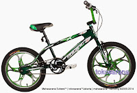 Sepeda BMX Pacific Brosway Mag Wheel 20 Inci