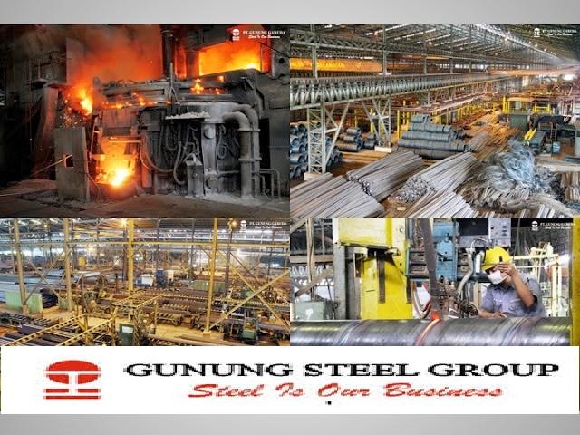 Lowongan qc Inspector di Pabrik PT Gunung Raja Paksi (Gunung Steel Group) Cibitung