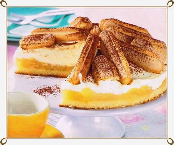 Receta de Postre Tarta de Manzana y Tiramisú