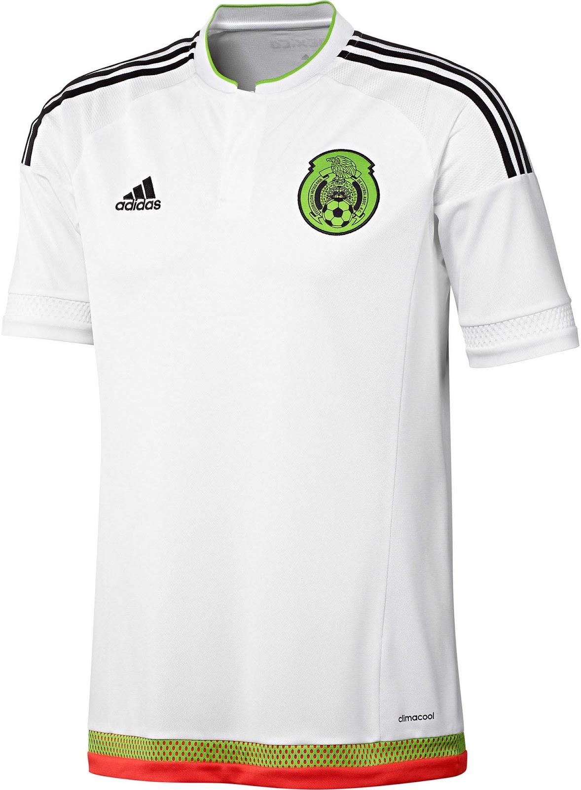 mexico 2015 copa america kits released   footy headlines
