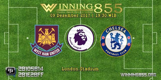 Prediksi Akurat West Ham vs Chelsea 09 Desember 2017