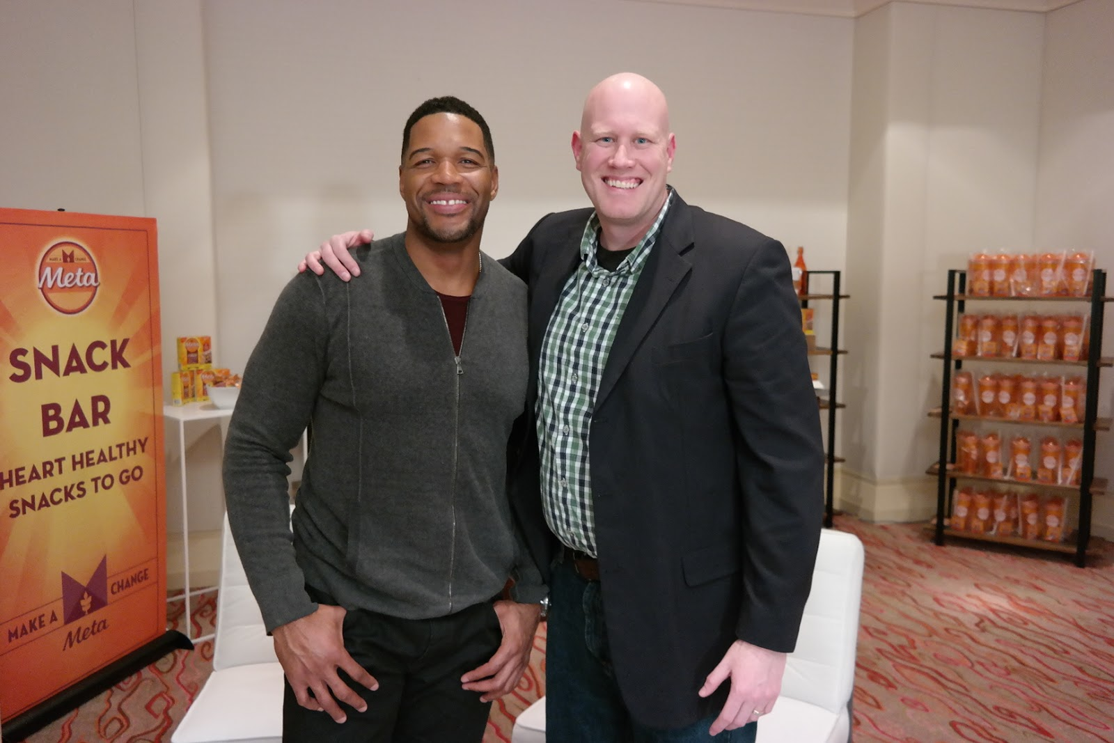 Dadncharge Health And Happiness With Michael Strahan
