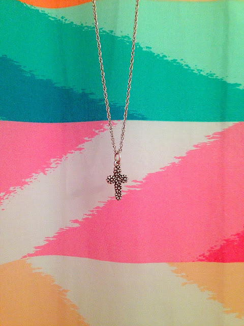 James Avery Cross Necklace | Live The Prep Life