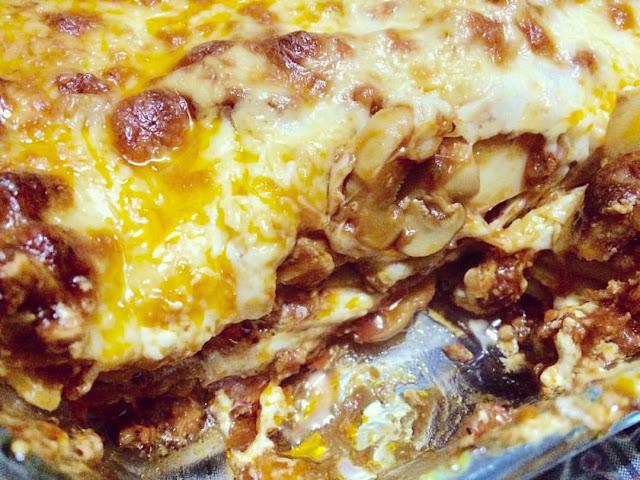 Bake Lasagna with Bechamel Sauce