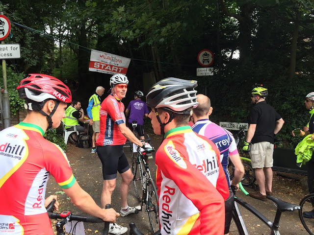 waller pain hillclimb caterham waining at the start