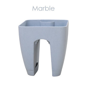 marble while planters