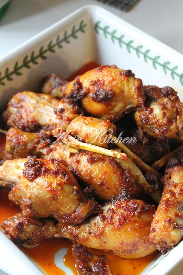 Ayam Masak Serai Yang Sedap - Azie Kitchen