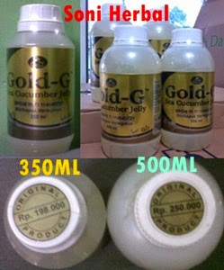 jelly gamat gold g 500ml pasti murah di madu herbal