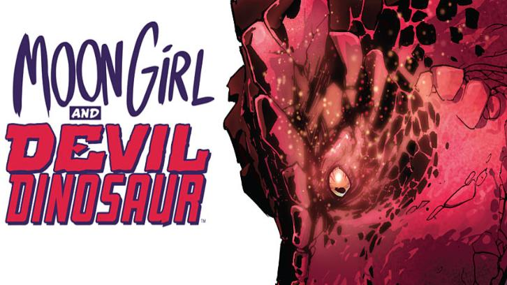 Marvel's Moon Girl And Devil Dinosaur - Animated Series from Laurence Fishburne in Development at Disney Channel