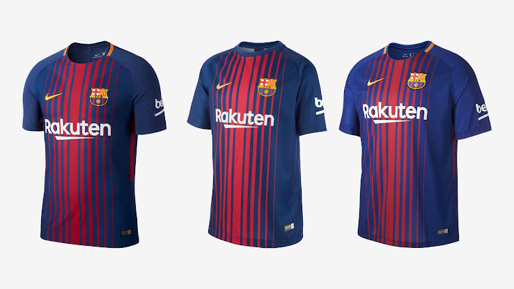 c3589b2a1 40 - Nike Barcelona 17-18 Breathe Home Shirt Revealed - Footy Headlines