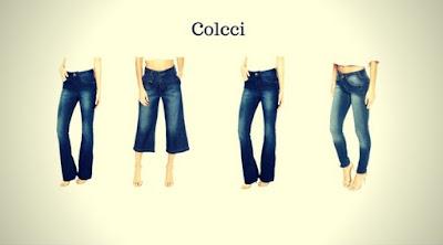 Calças Jeans Femininas da Colcci